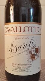 1998 Barolo Cavallotto