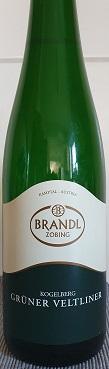 2009 Grüner Veltliner Kogelberg Weingut Brandl